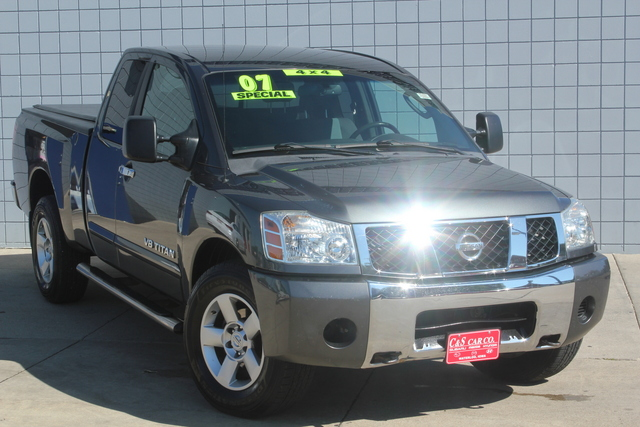 2007 nissan titan se king cab 4wd stock 14331a waterloo ia 50702. Black Bedroom Furniture Sets. Home Design Ideas