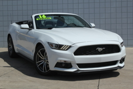 2016 Ford Mustang Premium Convertible for Sale  - 14642  - C & S Car Company