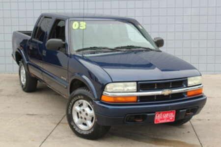 2003 Chevrolet S10 LS Crew Cab 4WD for Sale  - SB5966C  - C & S Car Company