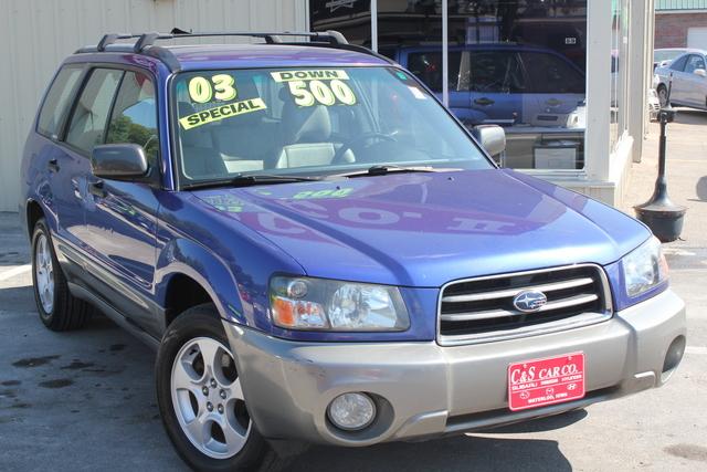 2003 Subaru Forester  - C & S Car Company