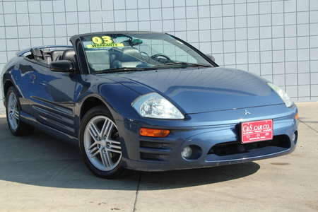2003 Mitsubishi Eclipse Spyder GT  Convertible for Sale  - HY7427A  - C & S Car Company
