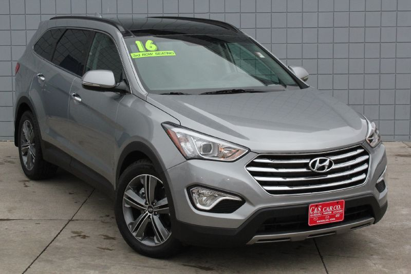 2016 hyundai santa fe limited awd waterloo ia 50702 c s car company. Black Bedroom Furniture Sets. Home Design Ideas