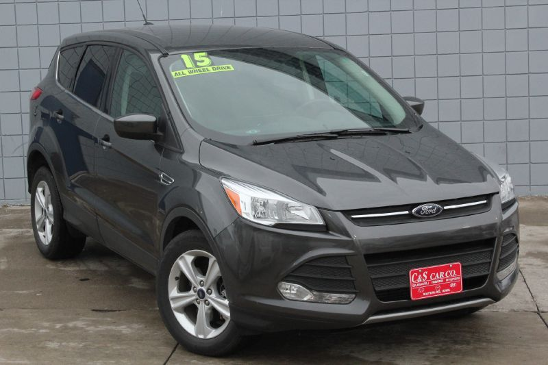 2015 ford escape se 4wd waterloo ia 50702 c s car company. Black Bedroom Furniture Sets. Home Design Ideas