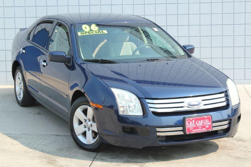 2006 ford fusion se waterloo ia 50702 c s car company