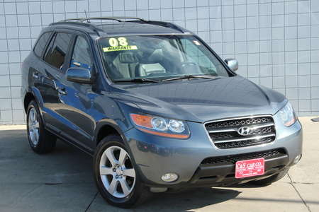 2008 Hyundai Santa Fe Limited for Sale  - 14658A  - C & S Car Company