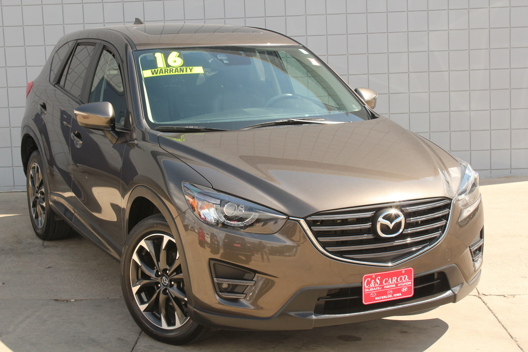 2016 mazda cx 5 grand touring awd stock ma2996a waterloo ia. Black Bedroom Furniture Sets. Home Design Ideas