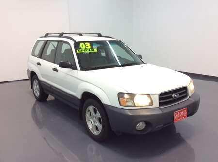 2003 Subaru Forester 2.5X for Sale  - SB6415A  - C & S Car Company