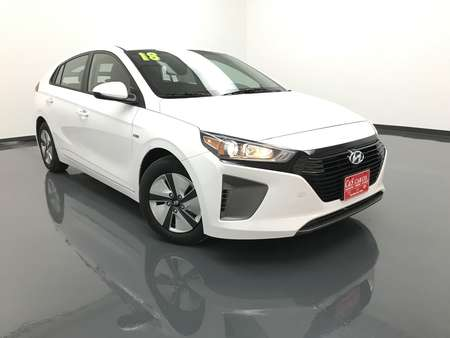 2018 Hyundai Ioniq Hybrid Blue for Sale  - HY7624  - C & S Car Company