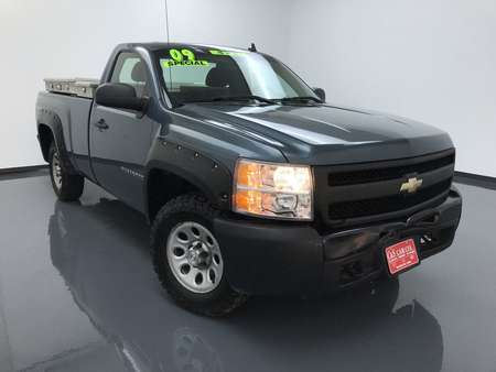 2009 Chevrolet Silverado 1500 Reg Cab 4WD for Sale  - 14870A  - C & S Car Company