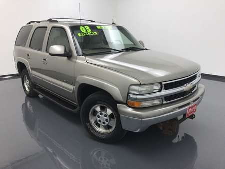 2003 Chevrolet Tahoe LT 4WD for Sale  - MA2842B  - C & S Car Company