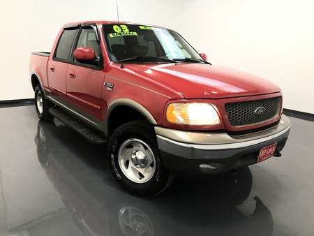 2003 Ford F-150 Lariat Supercrew 4WD for Sale  - SB6395C  - C & S Car Company