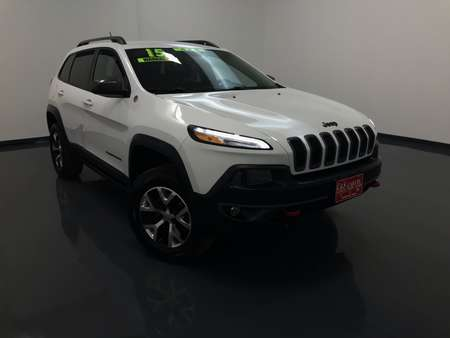 2015 Jeep Cherokee Trailhawk 4WD for Sale  - 15229B  - C & S Car Company