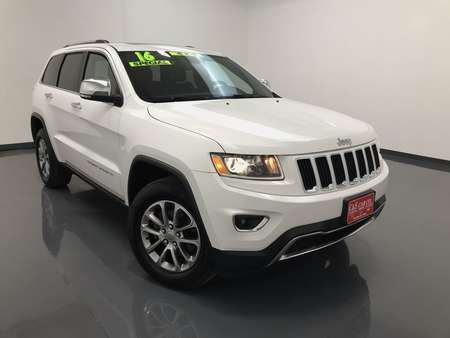 2016 Jeep Grand Cherokee Limited  4WD for Sale  - SB7513A  - C & S Car Company