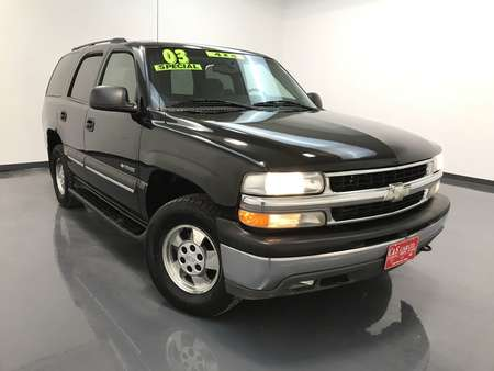 2003 Chevrolet Tahoe LS 4WD for Sale  - MA2861B  - C & S Car Company