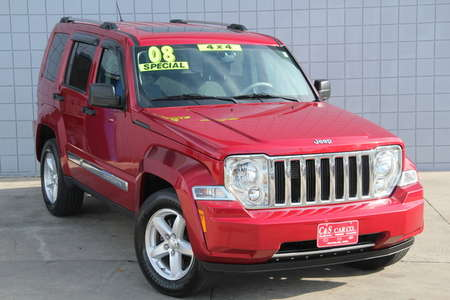 2008 Jeep Liberty Limited 4WD for Sale  - SB5977B  - C & S Car Company