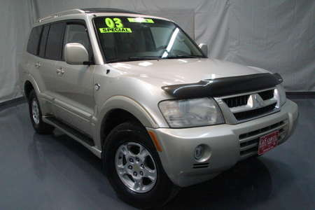 2003 Mitsubishi Montero Limited 20th Anniversary for Sale  - SB6235A  - C & S Car Company