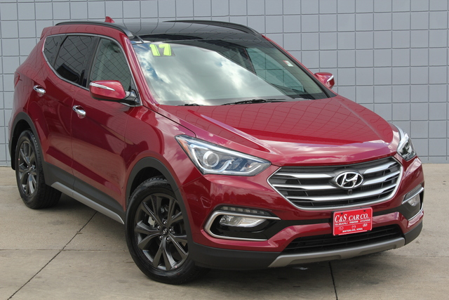 2017 hyundai santa fe sport 2 0t ultimate awd stock hy7069 waterloo ia 50702. Black Bedroom Furniture Sets. Home Design Ideas