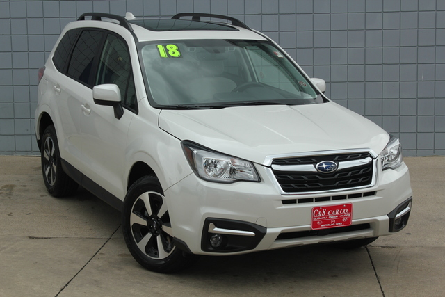 2018 subaru forester premium w eyesight stock sb6036 waterloo ia. Black Bedroom Furniture Sets. Home Design Ideas
