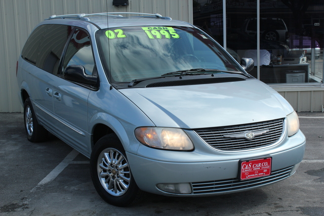 2002 Chrysler Town & Country  - C & S Car Company