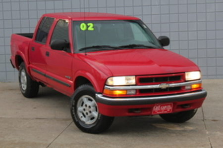 2002 Chevrolet S10 LS Crew Cab 4WD for Sale  - SB5385B  - C & S Car Company
