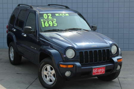 2002 Jeep Liberty Limited 4WD for Sale  - HY7293B  - C & S Car Company
