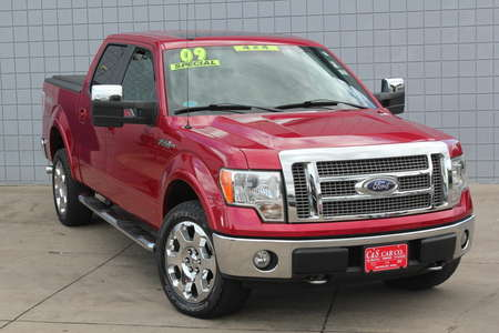 2009 Ford F-150 Lariat Supercrew 4WD for Sale  - 14692A  - C & S Car Company