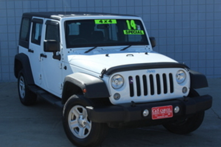2014 Jeep Wrangler Unlimited Sport 4WD RHD for Sale  - 14634  - C & S Car Company