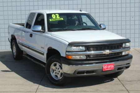 2002 Chevrolet Silverado 1500 LT  Ext Cab 4WD Long Bed for Sale  - HY7361B1  - C & S Car Company