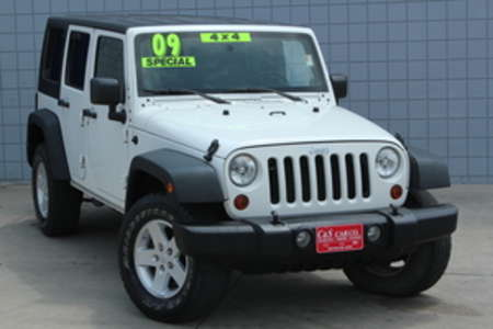 2009 Jeep Wrangler X Unlimited 4WD for Sale  - SB5171B  - C & S Car Company