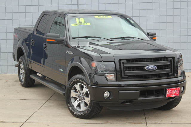 2014 ford f 150 xl fx4 supercrew 4wd stock 14454 waterloo ia. Black Bedroom Furniture Sets. Home Design Ideas