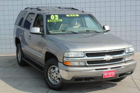 2003 Chevrolet Tahoe LT 4WD for Sale  - 14738  - C & S Car Company