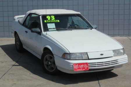 1993 Chevrolet Cavalier RS Convertible for Sale  - HY6734A  - C & S Car Company