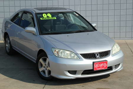 2004 Honda Civic EX 2dr Coupe for Sale  - SB6104A  - C & S Car Company