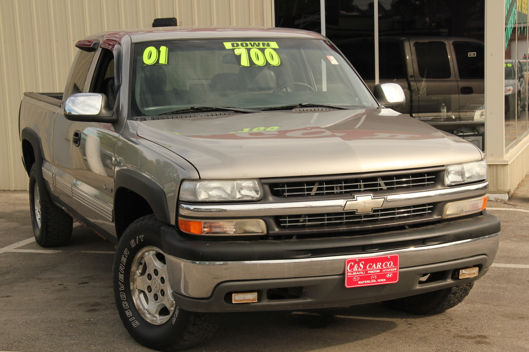 2001 chevrolet silverado 1500 lt extended cab 4wd stock r14673 waterloo ia. Black Bedroom Furniture Sets. Home Design Ideas