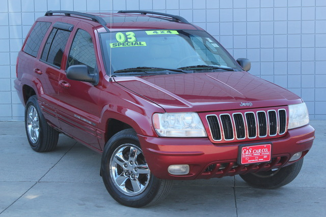 2003 jeep grand cherokee limited 4wd stock rx14910 waterloo ia. Black Bedroom Furniture Sets. Home Design Ideas