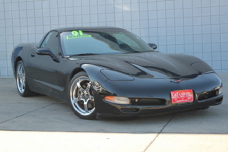 2001 Chevrolet Corvette Coupe for Sale  - MA2922B1  - C & S Car Company
