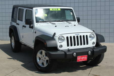 2015 Jeep Wrangler Sport Unlimited 4WD for Sale  - 14584  - C & S Car Company