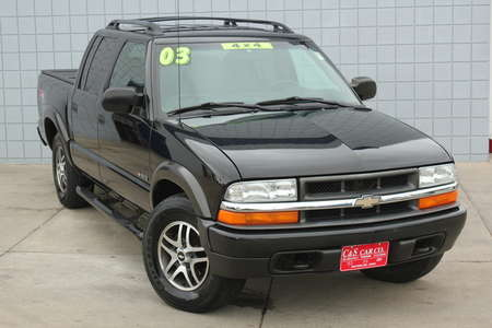 2003 Chevrolet S10 LS Crew Cab 4WD ZR5 for Sale  - SB5721A  - C & S Car Company