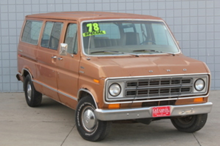 1978 Ford CW8 Club Wagon Chateau for Sale  - HY6770E2  - C & S Car Company
