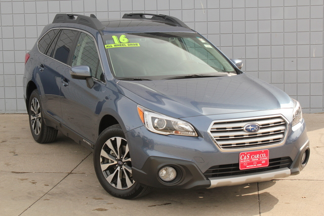2016 subaru outback limited w eyesight stock sb5799a waterloo ia. Black Bedroom Furniture Sets. Home Design Ideas