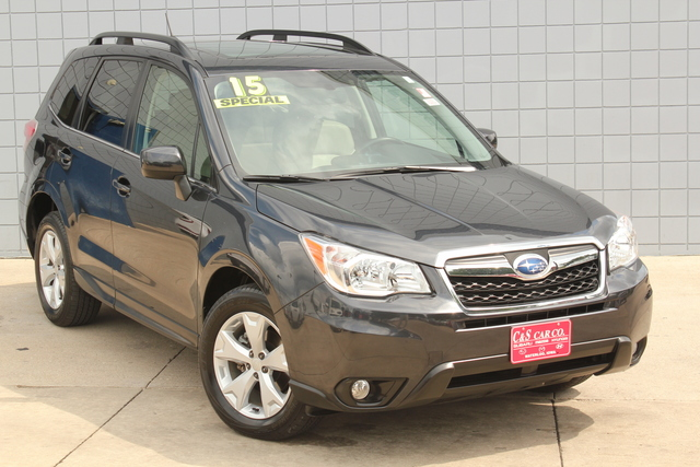 2015 subaru forester limited stock sb5163a waterloo ia 50702. Black Bedroom Furniture Sets. Home Design Ideas