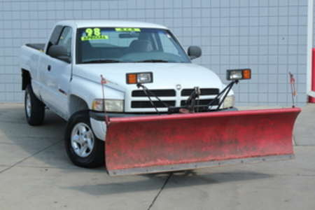 1998 Dodge Ram 1500 4WD w/Western Snow Plow for Sale  - 14633A  - C & S Car Company