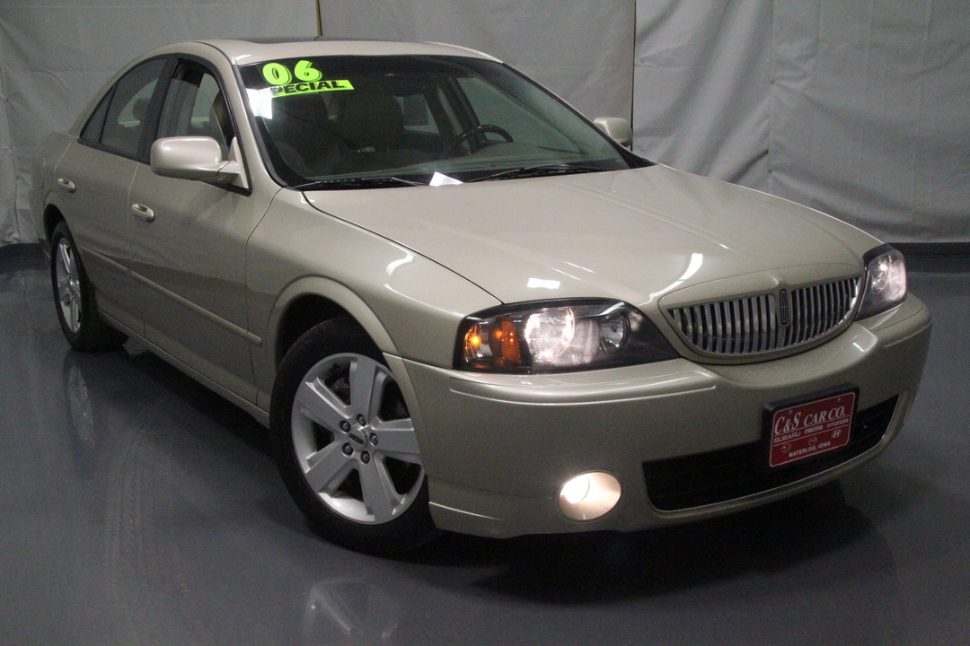 2006 lincoln ls v8 sport stock 14853 waterloo ia. Black Bedroom Furniture Sets. Home Design Ideas