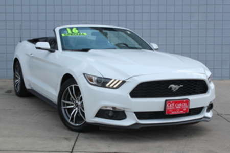 2016 Ford Mustang Premium Convertible for Sale  - 14668  - C & S Car Company