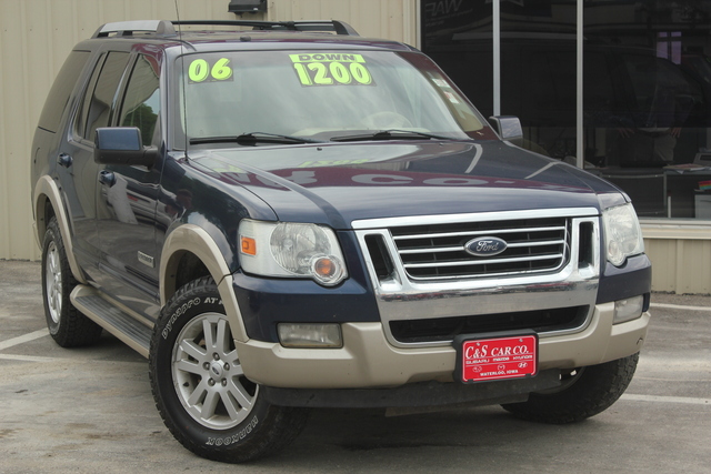 2006 ford explorer eddie bauer 4wd stock 14617. Black Bedroom Furniture Sets. Home Design Ideas