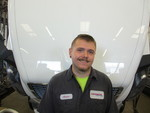 Austin Undesser Working as Heavy Duty Technician at Coffman Truck Sales