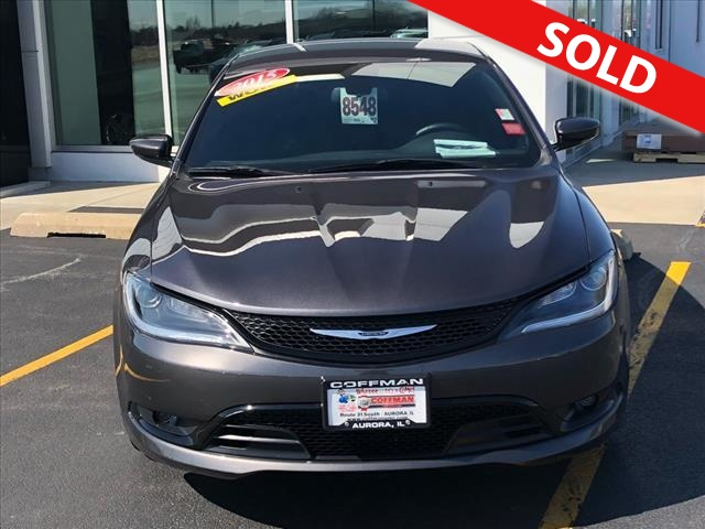 2015 Chrysler 200  - Coffman Truck Sales