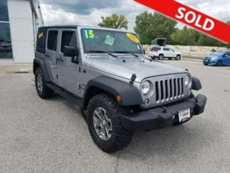 2015 Jeep Wrangler Sport for Sale  - 8432  - Coffman Truck Sales