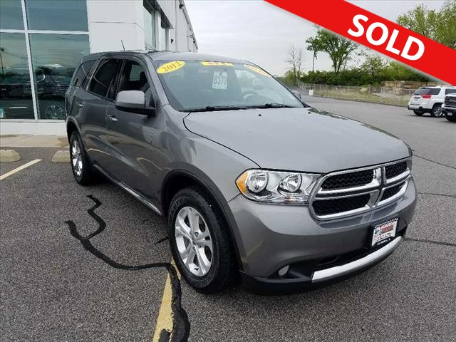 2012 Dodge Durango  - Coffman Truck Sales