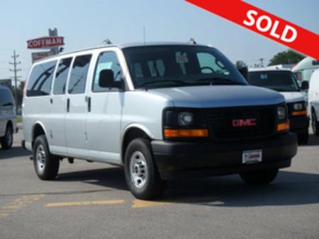 2017 GMC Savana Passenger LS 3500 for Sale  - 3007  - Coffman Truck Sales